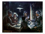 The Potato-Eaters, c.1885 Giclee Print by Vincent van Gogh