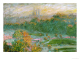 The Tuileries Gardens, 1875 Giclee Print by Claude Monet