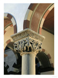 Sculpted Capital from St. Michael, Hildesheim, Four Angels, Evangelist Giclee Print