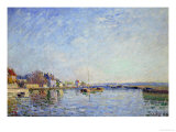 Canal at Loing, 1884 Giclee Print by Alfred Sisley