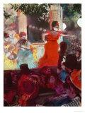 Cafe Concert Aux Ambassadeurs Giclee Print by Edgar Degas