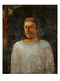 Self-Portrait, 1896 Giclee Print by Paul Gauguin