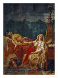 The Sorrow of Andromache, 1781 Giclee Print by Jacques-Louis David