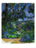 Blue Landscape, 1904-1906 Giclee Print by Paul C&#233;zanne