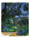 Blue Landscape, 1904-1906 Giclee Print by Paul Cézanne