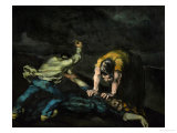 The Murder, 1868 Giclee Print by Paul Cézanne