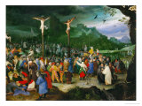 Crucifixion, 1595 Giclee Print by Jan Brueghel the Elder