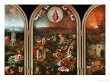 Domedagen Gicléetryck av Hieronymus Bosch