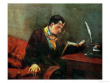 Charles Baudelaire, French Poet Giclee Print by Gustave Courbet