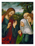 Christ's Farewell to the Holy Women, circa 1520 Giclee Print by Lucas Cranach the Elder