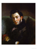 Portrait of Frederic Villot Giclee Print by Eugene Delacroix