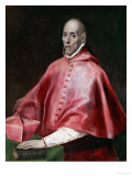 Cardinal Juan De Tavera (D. 1545), Founder of the Tavera Hospital Giclee Print by El Greco
