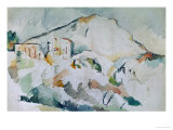 Mount Sainte-Victoire Giclee Print by Paul C&#233;zanne