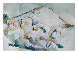 Mount Sainte-Victoire Giclee Print by Paul Cézanne