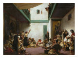 A Jewish Wedding in Morocco, 1839 Giclee Print by Eugene Delacroix