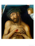 Christ with the Crown of Thorns (Der Schmerzensmann), Oil on Wood (1515) Giclee Print by Lucas Cranach the Elder