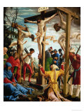 The Crucifixion, from the Saint Sebastian Altar, 1518 Giclee Print by Albrecht Altdorfer