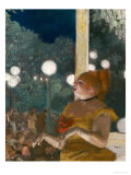 The Song of the Dog, Gouache and Pastel on Monotype Giclee Print by Edgar Degas