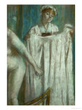 Toilette after the Bath, 1888-1889 Reproduction proc&#233;d&#233; gicl&#233;e par Edgar Degas