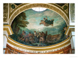 Cupola in the Assemblee Nationale Giclee Print by Eugene Delacroix