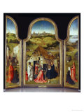 The Adoration of the Magi (Central Panel) Giclee Print by Hieronymus Bosch