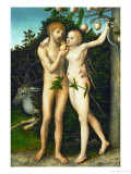 The Fall, after 1537 Giclee Print by Lucas Cranach the Elder