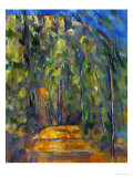 Bend in the Forest Road, 1902-1906 Stampa giclée di Paul Cézanne