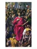 The Disrobing of Christ, 1577-1579 Giclee Print by  El Greco