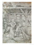 Nativity, Pen and Ink Giclee Print by Albrecht Dürer