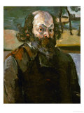 Self Portrait, 1873-1876 Giclee Print by Paul Cézanne