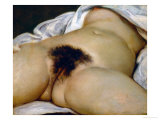 The Origin of the World Lámina giclée por Gustave Courbet