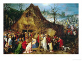 Adoration of the Magi, 1598 Giclee Print by Jan Brueghel the Elder