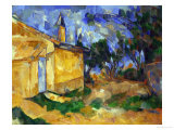 The Cottage of M. Jourdan, 1906 Giclee Print by Paul Cézanne