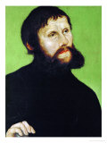 Martin Luther as Junker Joerg, Disguised as a Country Squire, 1521-22 Giclee Print by Lucas Cranach the Elder