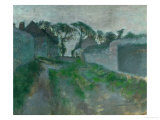 Village Street, Saint Valery-Sur-Somme, 1896-1898 Giclee Print by Edgar Degas