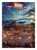 The Battle of Issos, November 333 BCE Giclee Print by Albrecht Altdorfer