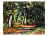 Forest Path, circa 1892 Giclee Print by Paul Cézanne