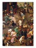Fight Between Carnival and Lent Giclee Print by Pieter Bruegel the Elder