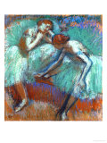 The Large Green Dancers, 1898-1900 Giclee Print by Edgar Degas