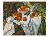 Apples and Oranges Giclee Print by Paul C&#233;zanne
