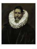The Licentiate Jeronimo De Cevallos (Born Between 1559 and 1562), Painted Around 1604 Giclee Print by  El Greco