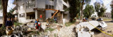 People Clearing Debris After an Earthquake, Sherman Oaks, California, USA Photographic Print by  Panoramic Images