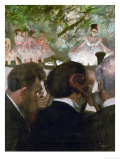 The Orchestra, 1870-1871 and 1874-1876 Giclee Print by Edgar Degas