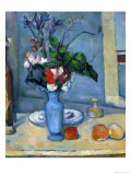 The Blue Vase, 1885-87 Giclee Print by Paul Cézanne