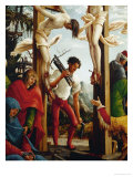 Crucifixion, Man Carrying Wood and Axe Giclee Print by Albrecht Altdorfer
