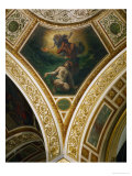 Adam and Eve, Frescoes from the Spandrels of the Main Hall Giclee Print by Eugene Delacroix