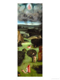 Adam and Eve, Expulsion from Paradise, Left Wing of the Triptych of the Last Judgment Giclee Print by Hieronymus Bosch