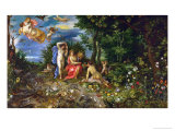 Ceres and the Four Elements, Personages by H. Van Balen, 1604 Giclee Print by Jan Brueghel the Elder