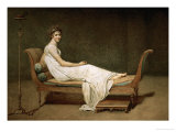 Mme. Recamier (1777-1849), 1780 Giclee Print by Jacques-Louis David