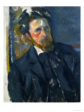 Portrait of Joachim Gasquet Giclee Print by Paul Cézanne